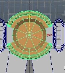 スカイハイを仕上げる。9 スカートを作る。【Autodesk Maya 2014】