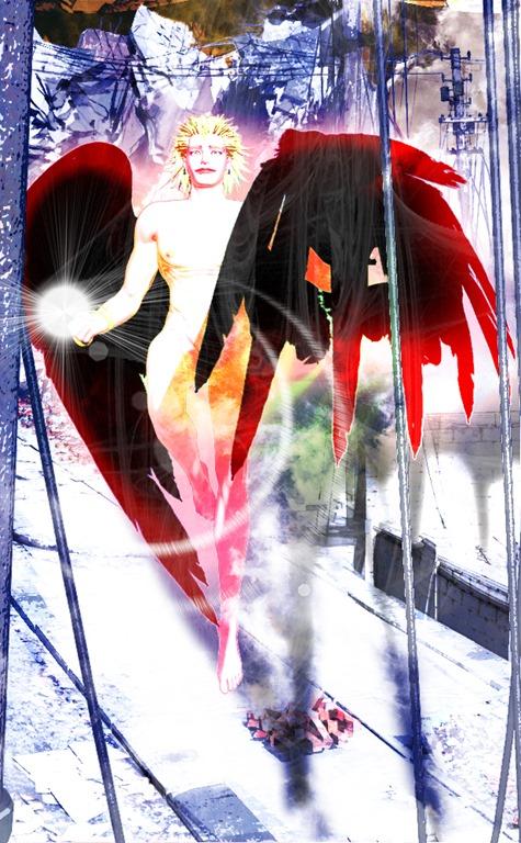 【Daz Studio4.6】双子の天使作成【PhotoshopCS6】9