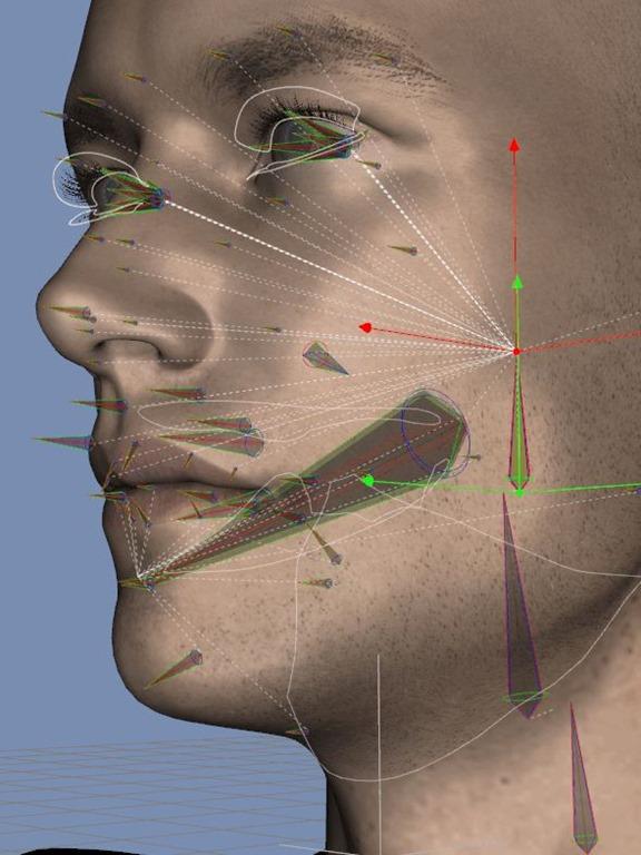 【D|S】Michael 7 顔のボーンを見てみよう。